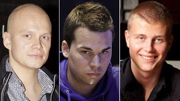 Kuka on vuoden paras pokeripelaaja? Ilari Sahamies, Sami Kelopuro vai Jens Kyllönen?
