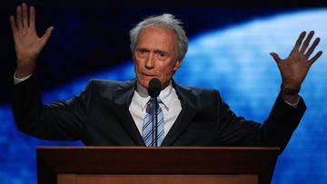 Clint Eastwood puhui Mitt Romneyn kampanjatilaisuudessa elokuun lopussa.