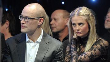 Jarkko Ruutu seurasi Sofia-kihlattunsa kanssa Tanssii Tähtien Kanssa -finaalia joulukuussa.