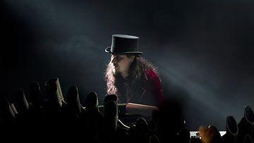 Tuomas Holopainen Nightwishin keikalla 10.3.2012.
