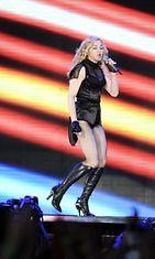 Madonna Helsingissä.