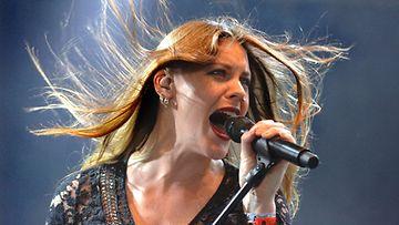 Nightwishin uusi solisti Floor Jansen.