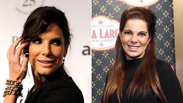 Sandra Bullock ja Maija Rahja ovat kuin kaksi marjaa.