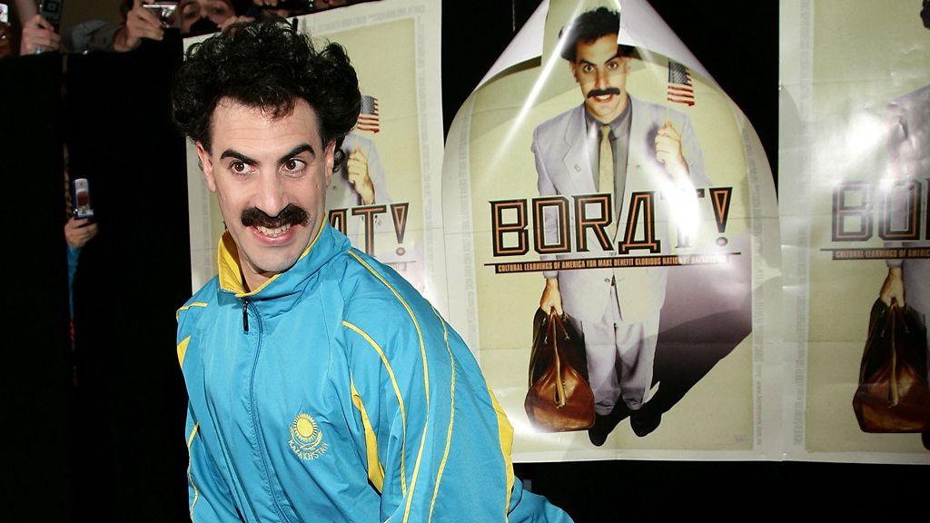 Kansallislaulu korvautui palkintoseremoniassa Borat-versiolla - Viihde - MTV.fi