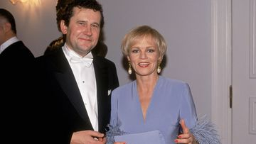 Katri Helena ja Panu Rajala Linnan juhlissa vuonna 1993.