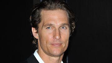 Matthew McConaughey on lähes alkuperäisissä mitoissaan.