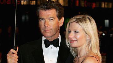 Pierce Brosnan suree viikonloppuna kuollutta Charlotte-tytärtään.
