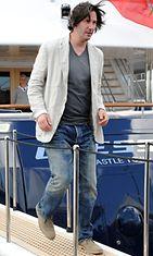 Keanu Reeves Cannesissa.