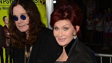 Sharon ja Ozzy Osbourne heräsivät tulipaloon.