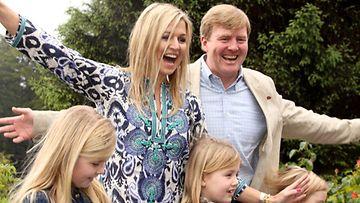 Willem-Alexander, Maxima ja tytöt