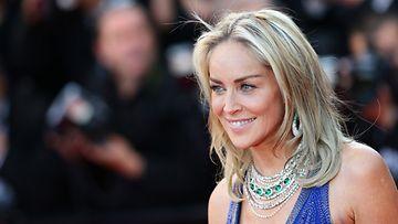 Sharon Stone Cannesissa