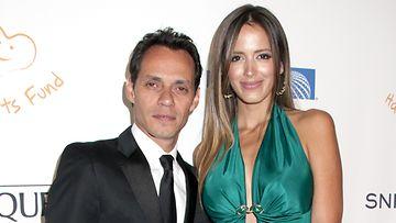 Marc Anthony ja Shannon de Lima erosivat