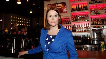 Sanna Kiiski ravintola Memphisin 4-vuotisjuhlilla maaliskuussa.