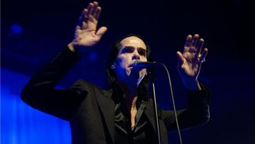 Nick Cave esiintyy Helsingissä tänään.