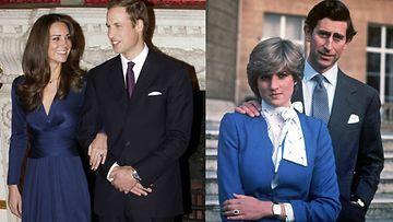 William kihlasi Catherinen äitinsä vanhalla kihlasormuksella.