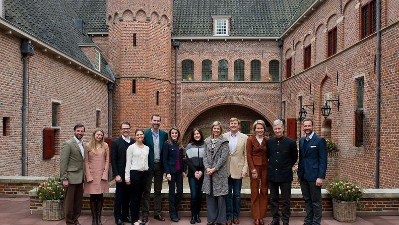 Euroopan kuninkaalliset kokoontuivat Hollannin Apeldoornissa