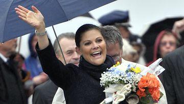 Ruotsin kruununprinsessa Victoria vieraili Torniossa 22.9.2011.
