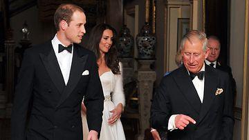 William, Kate, Charles
