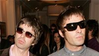 Liam Gallagher ja Noel Gallagher. Photo by: Dave Hogan/Getty Images