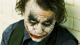 Heath Ledger Jokerina Batman - Yön Ritari -elokuvassa (kuva: Warner Bros)