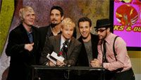 Backstreet Boys 2005 American Music Awards - Show (Photo by Kevin Winter/Getty Images