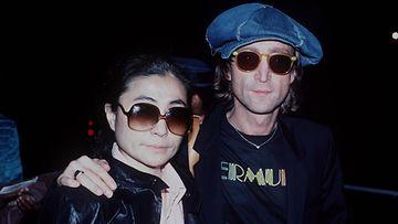 Yoko Ono ja John Lennon vuonna 1980.