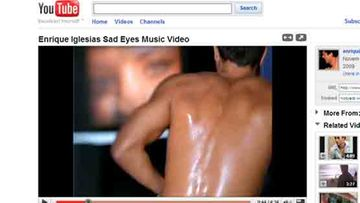 Enrique Iglesiaksen kohuttu video (Kuva: Youtube)