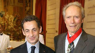 Clint Eastwood ja Nicolas Sarkozy