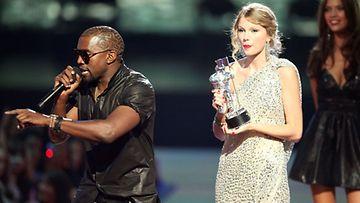 Kanye West ja Taylor Swift.