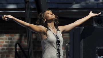 Whitney Houston. (Kuva: Larry Busacca/Getty Images)