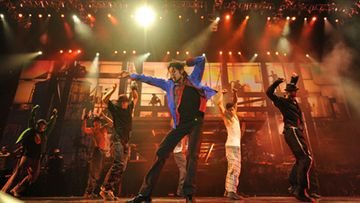 Michael Jackson This Is It -elokuvassa. Kuva: Kevin Mazur.