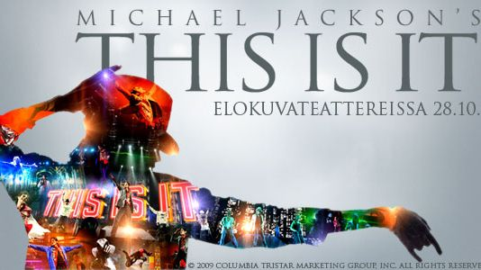 Michael Jackson's This Is It.