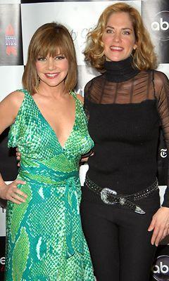 Bobbie Eakes ja Kassie DePaiva. (Kuva: Rob Loud/Getty Images)