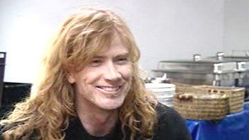 Dave Mustaine Suomessa.