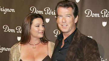Pierce Brosnan ja  vaimo Keely Shaye Smith kesällä 2006 (Kuva: Kevin Winter/Getty Images)