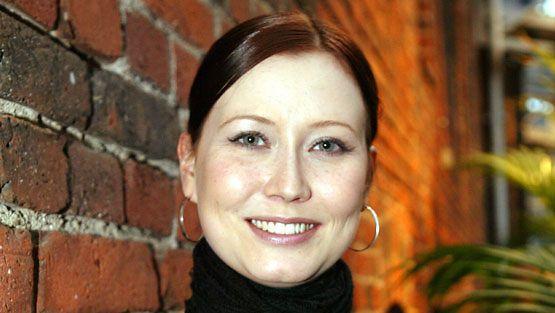 Näyttelijä Sanna Luostarinen. (Kuva: Sari Gustafsson/Lehtikuva)