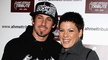 Carey Hart ja Pink (kuva: Wire Images/All Over Press)