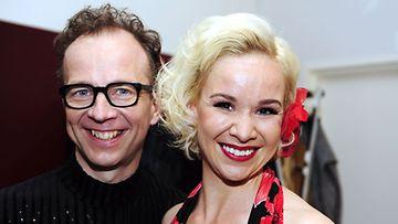 Simo Frangén ja Rosa Meriläinen (kuva: Heikki Saukkomaa/Lehtikuva)