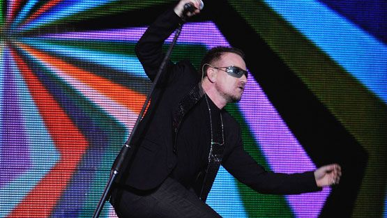 U2:n Bono (Kuva: Wire Images/All Over Press)