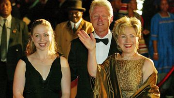 Chelsea, Bill ja Hillary Clinton (Wireimage)