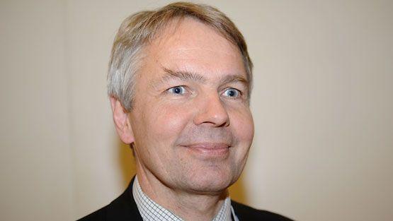 Vihreiden kansanedustaja Pekka Haavisto. (Kuva: Timo Jaakonaho/Lehtikuva)