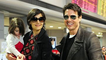 Katie Holmes, Tom Cruise ja Suri (kuva: Wire Images/All Over Press)