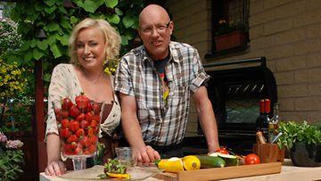Sonja Lumme ja Markus Maulavirta (kuva: MTV3)
