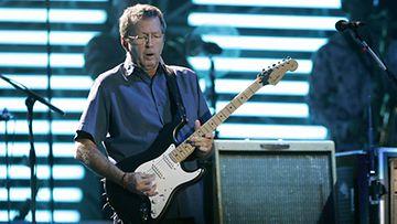 Kitaristi Eric Clapton esiintyi Hartwall Areenalla vuonna 2006. (Kuva: Antti Aimo-Koivisto/Lehtikuva)
