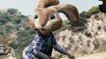 Antti Tuisku antaa äänensä Easter Bunnylle eli EB:lle.