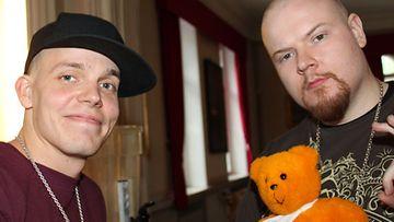 Fintelligens-yhtyeen Kimmo Laiho ja Henrik Rosenberg ovat mukana Kummit-tapahtumassa. (Kuva: MTV Oy)