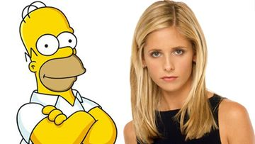 Homer Simpson ja Buffy Summers. (Kuva: Sub)