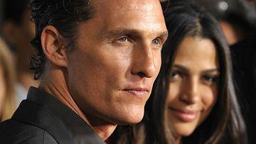 Matthew McConaughey ja Camilla Alves (Kuva: Getty Images)