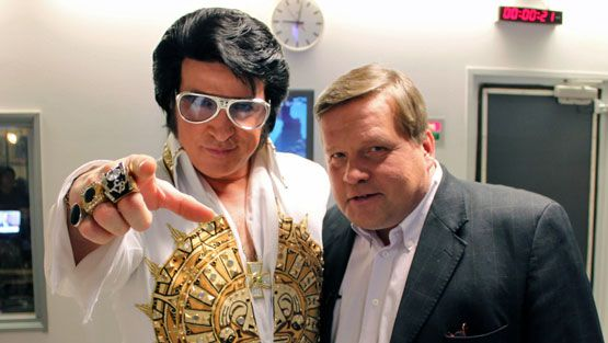 Doug Church ja Lauri Karhuvaara. (Kuva: Mikko Kormilainen/MTV Oy)