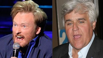 Conan O'Brien, Jay Leno (Kuvat: Getty Images/All Over Press)